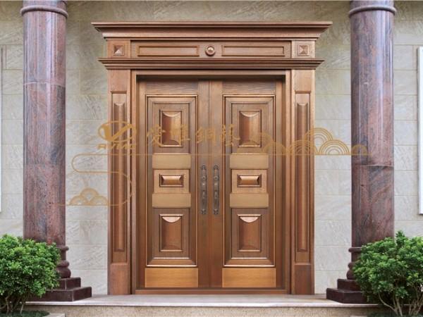 真铜大门与仿铜门的区别是什么呢?