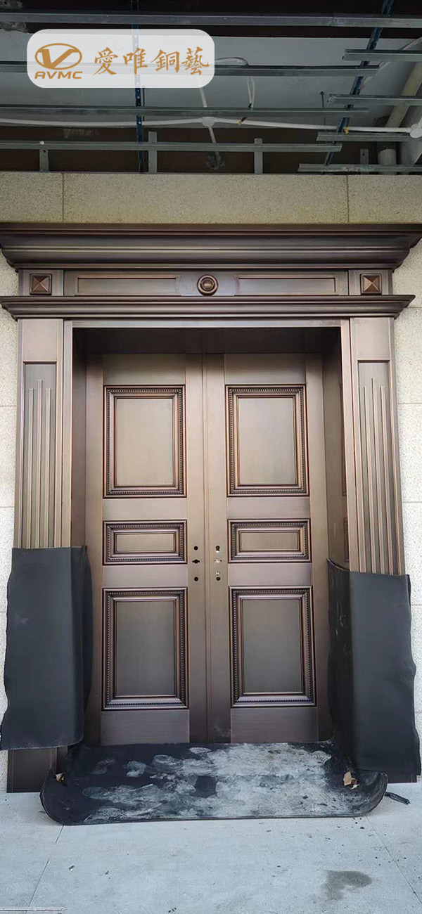 豪华别墅铜门