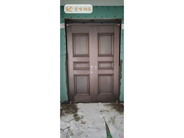 阳江虞总豪华别墅铜门工程案例——爱唯铜艺