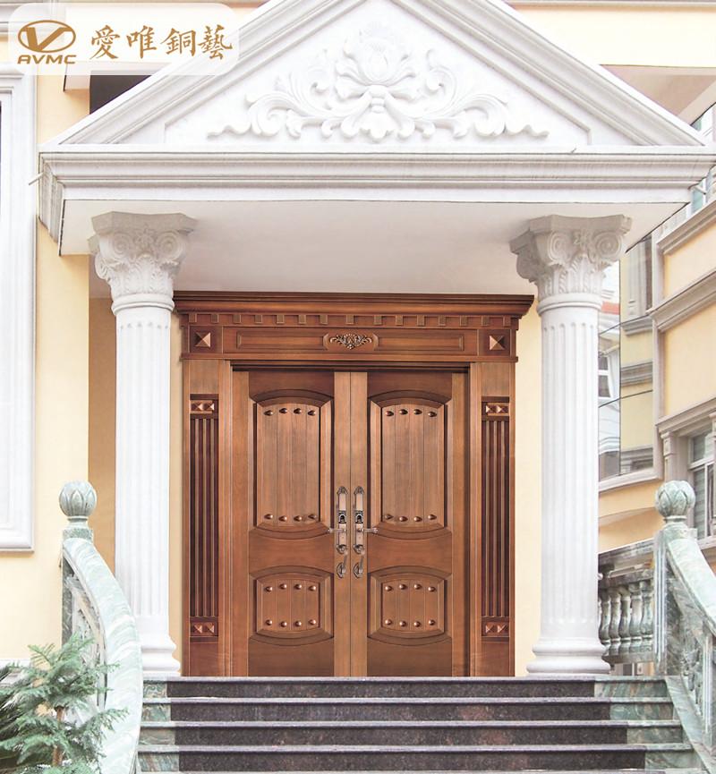 爱唯铜艺别墅入户门