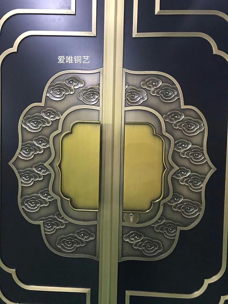 新中式风格铜门 (4)