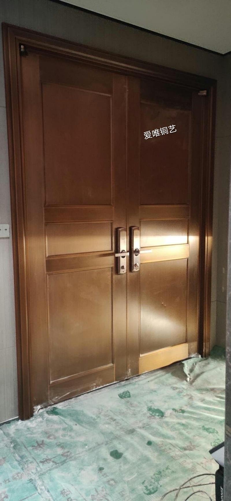 金沙洲别墅铜门 (3)