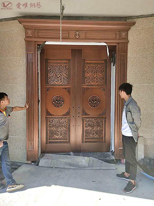 爱唯铜艺别墅铜门