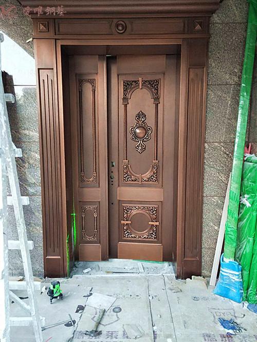 爱唯铜门别墅铜门