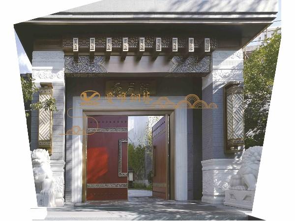 在铜门生产厂家中脱颖而出的爱唯铜门