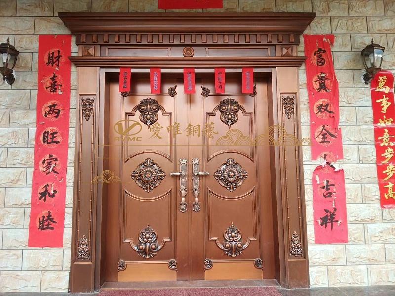 江西赣州别墅铜门
