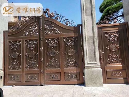 铜门十大品牌