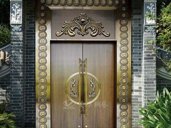 别墅铜门行业激烈的市场竞争