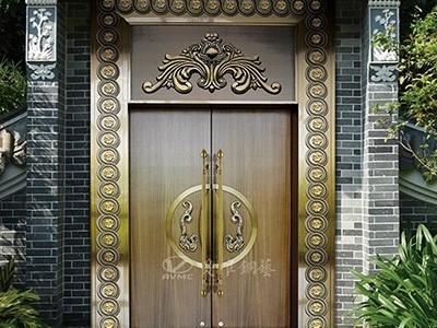 铜门厂家加工定制纯铜铜门