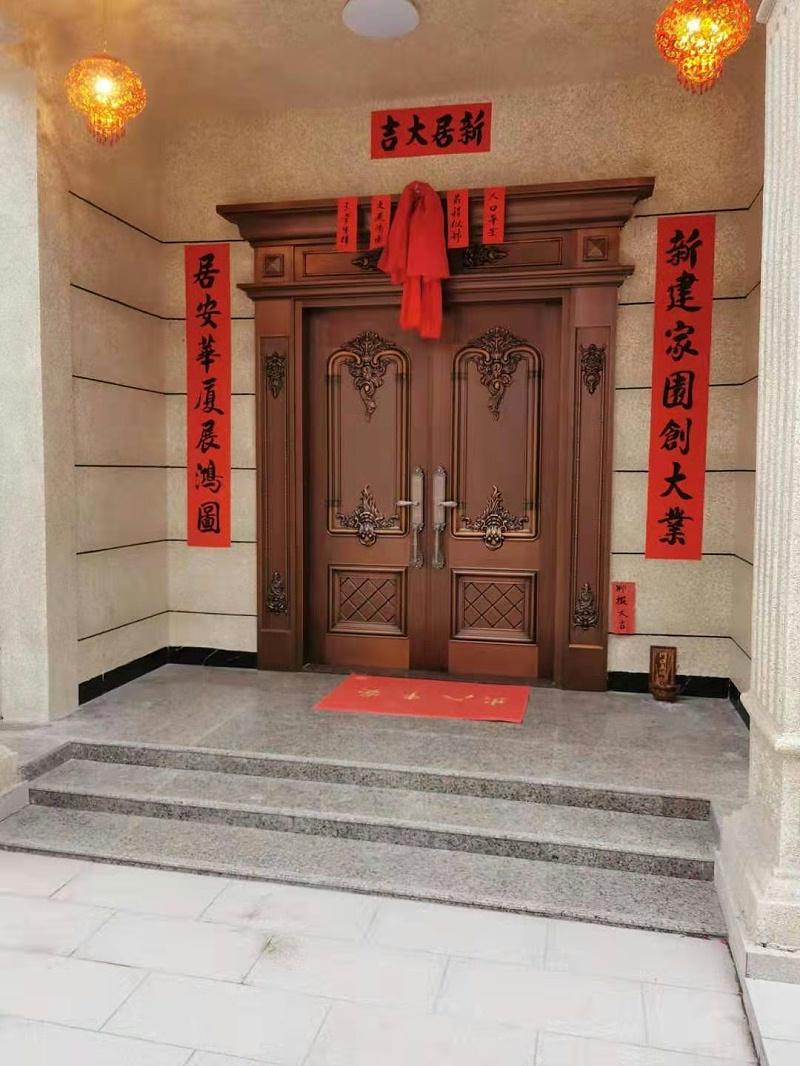 清远英德别墅铜门 (1)