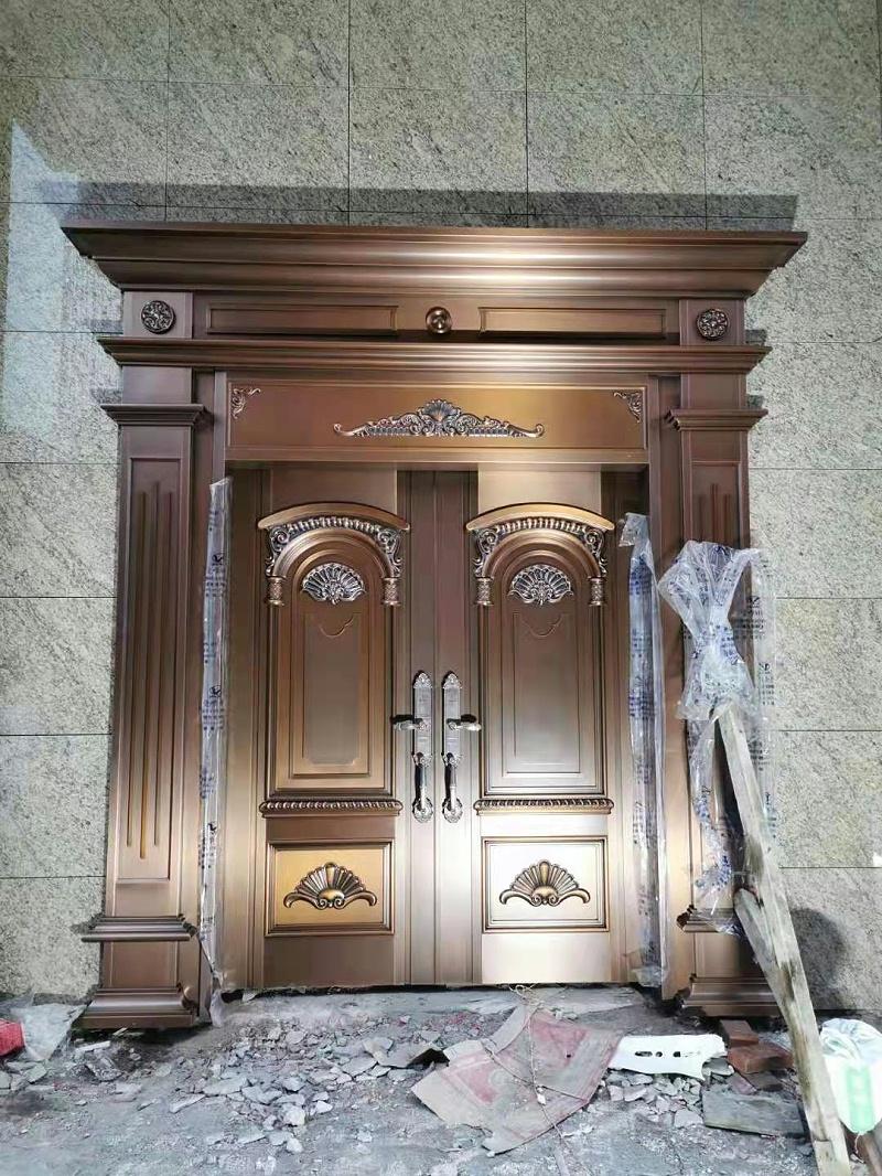 清远英德别墅铜门 (2)