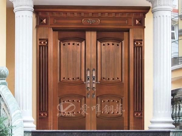 广东铜门厂家生产的铜门内衬骨架