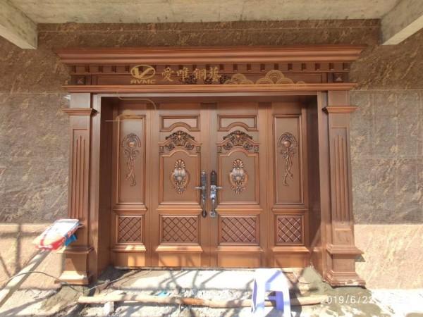 定制别墅铜门怎么测量门洞尺寸