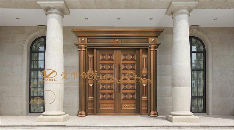 爱唯铜门-对开门