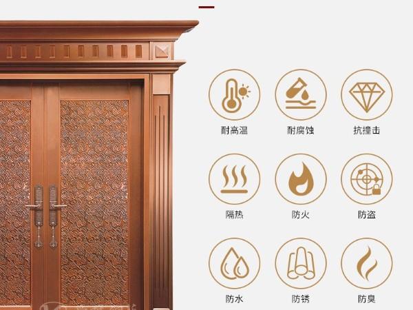 广东别墅铜门生产厂家根据消费者的需求定制