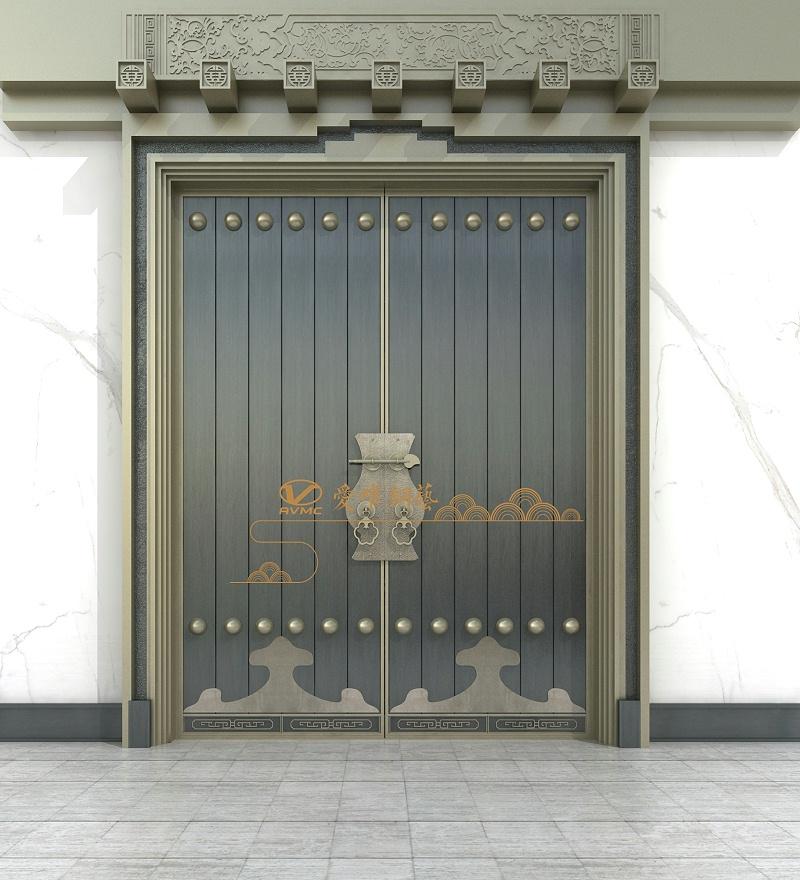 爱唯别墅铜门