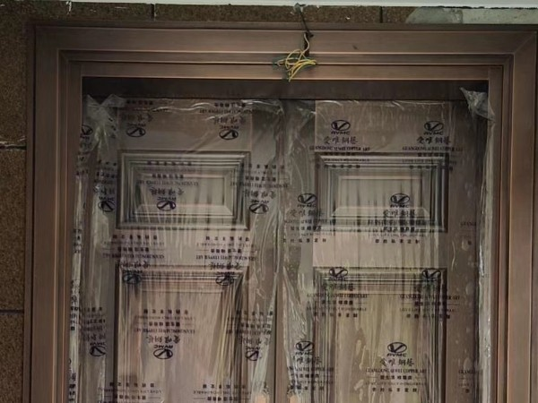 佛山铜门厂家爱唯铜艺别墅铜门——广州从化别墅铜门