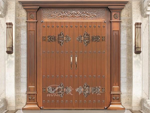 铜门的分类通常分那些呢?