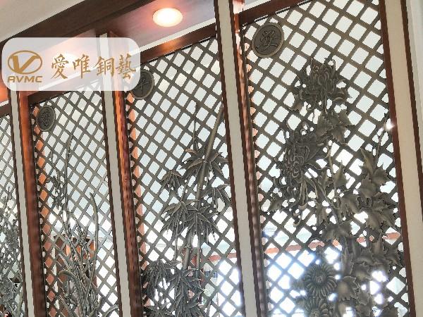铜门门框的结构