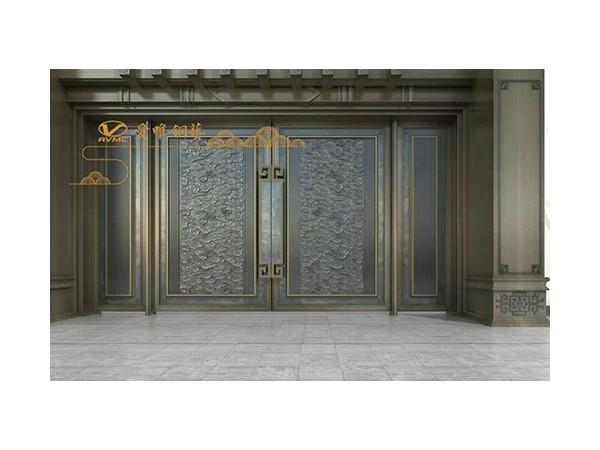 铜门不再是为别墅而存在