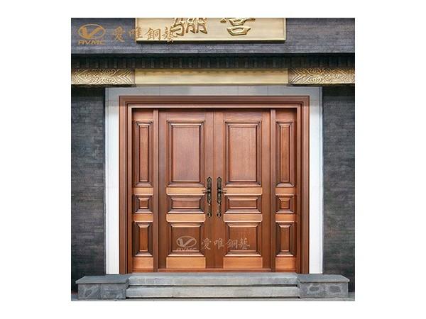 龙派爱唯铜门别墅入户铜门|铜门招商加盟