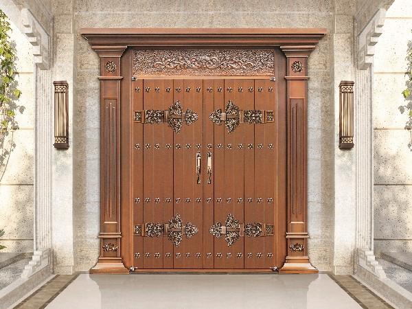 真铜门与仿制铜门的区别到底有多大