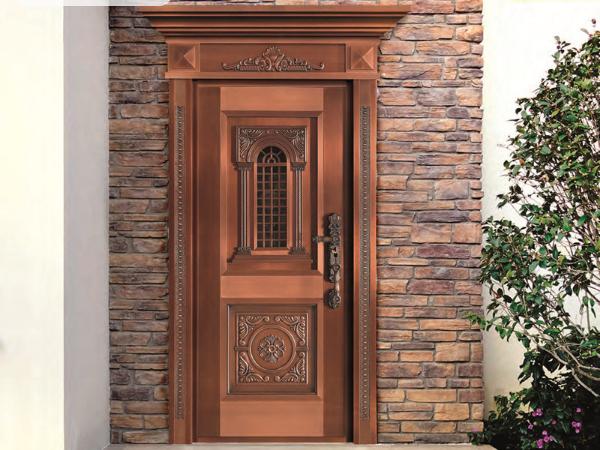 入户铜门有哪些分类,它们都适合什么户型?