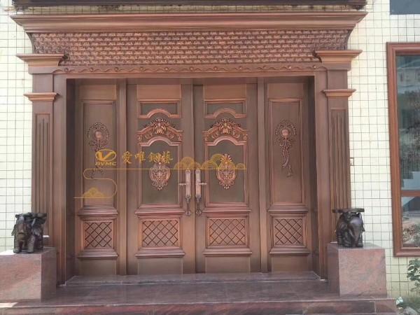 高、低档铜门有什么区别?别墅铜门定制厂家告诉您!