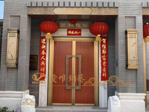 如何区分市场上的真铜门和仿铜门?