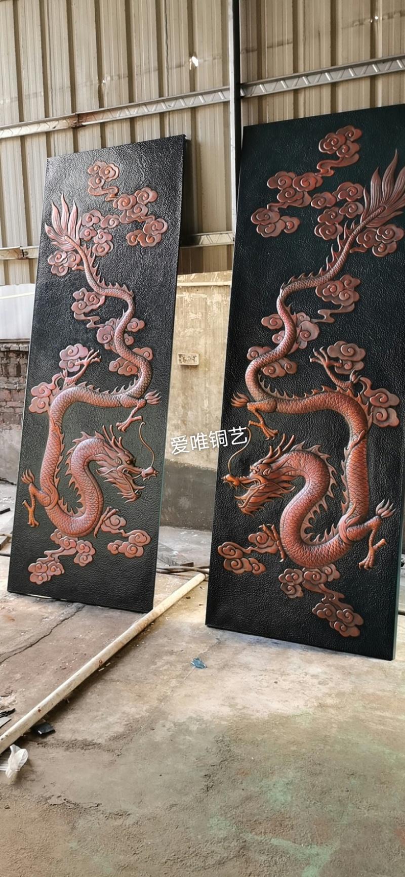 铜板雕刻大威天龙 (1)