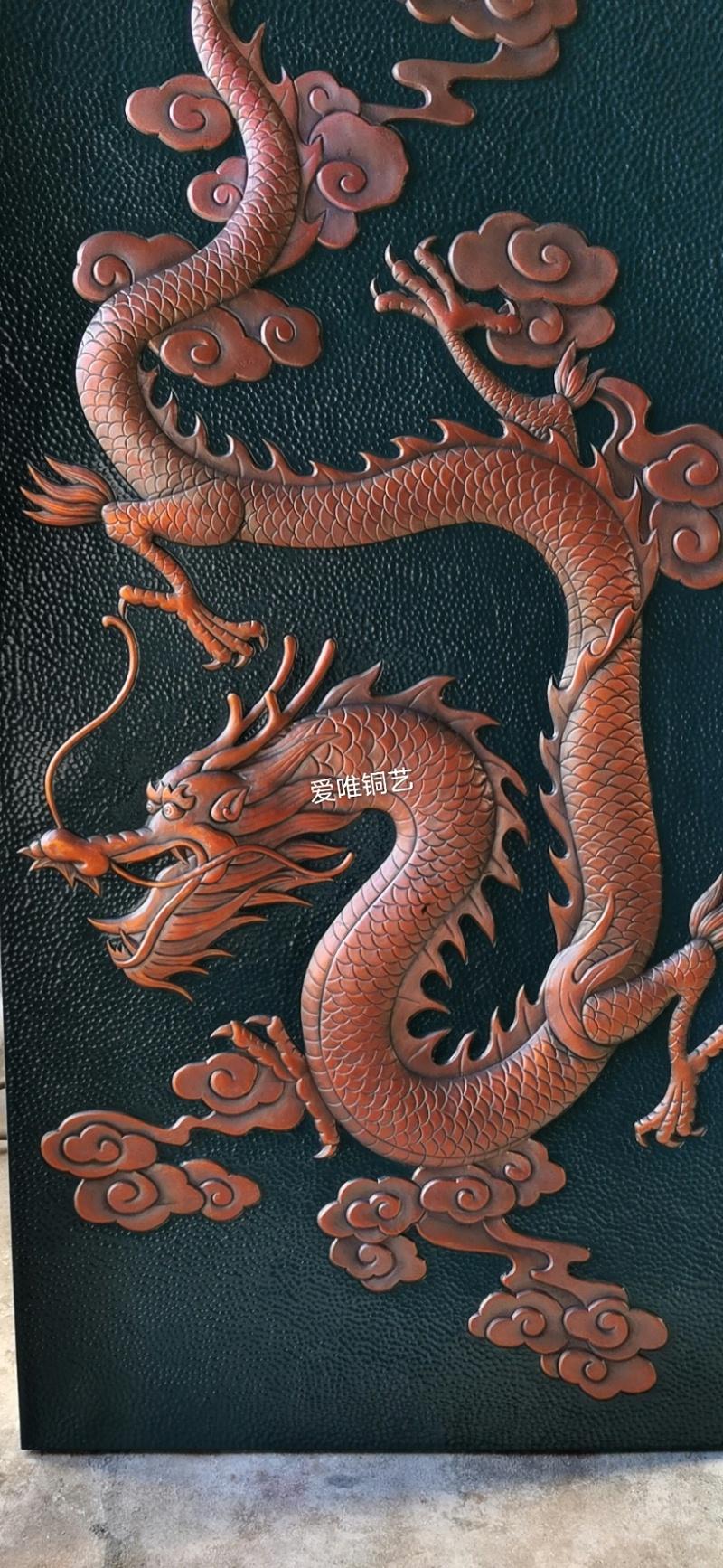 铜板雕刻大威天龙 (2)