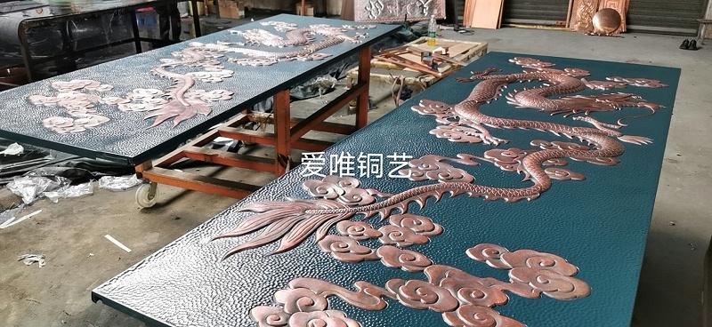 铜板雕刻大威天龙 (4)