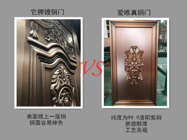 别墅铜门生产厂家爱唯铜艺为您介绍铜门的种类有哪些?