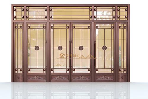 别墅入户铜门制作厂家