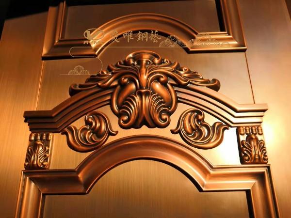 铜门公司的铜大门花件是什么