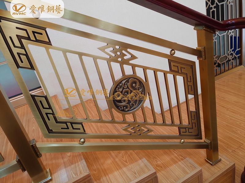 铜门厂家铜楼梯
