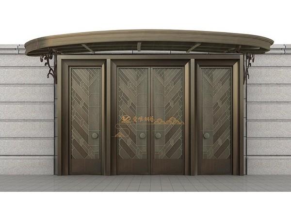 别墅铜门标准尺寸是多少?