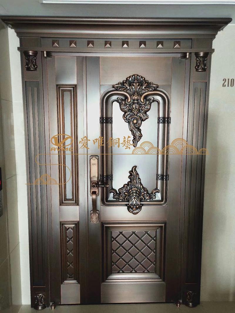 爱唯入户铜门