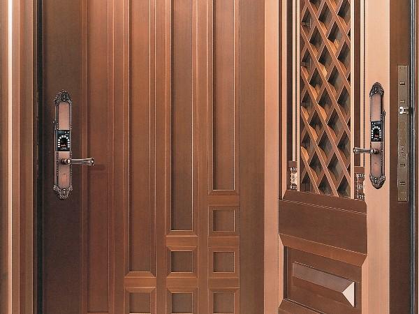 铜门厂家制作铜门需要注意产品环保