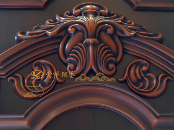 从别墅铜门厂家定制别墅铜门的注意事项