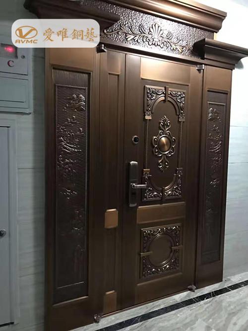 别墅铜门工程案例