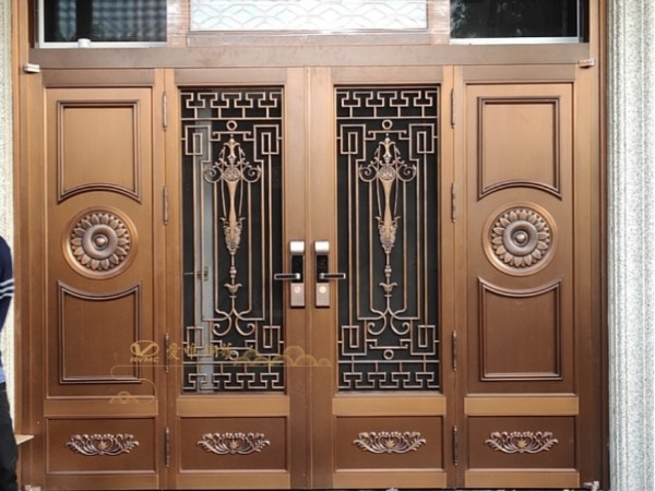 别墅铜门厂家告诉你什么是别墅铜门