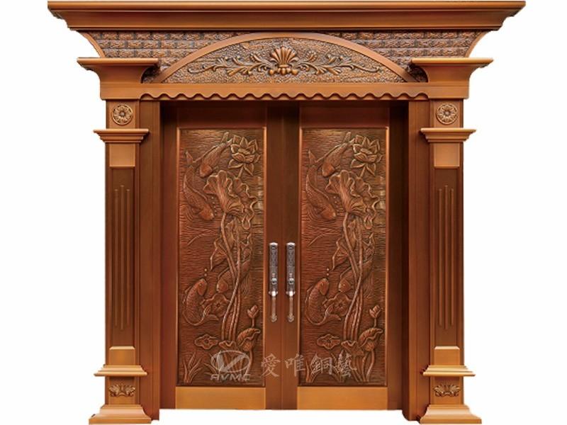 爱唯铜艺--入户铜门