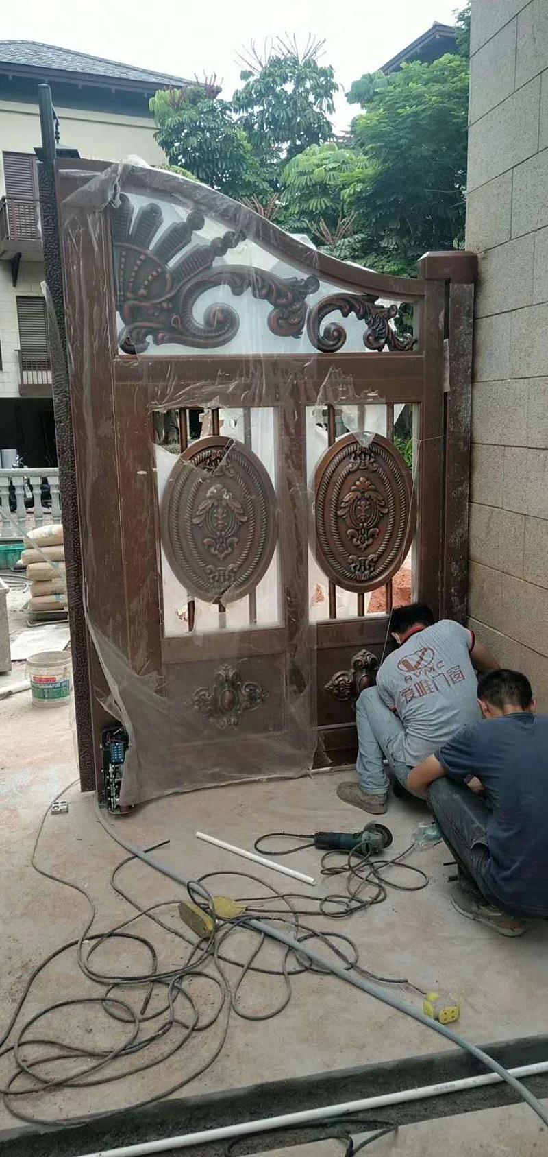 中山铜门 (2)