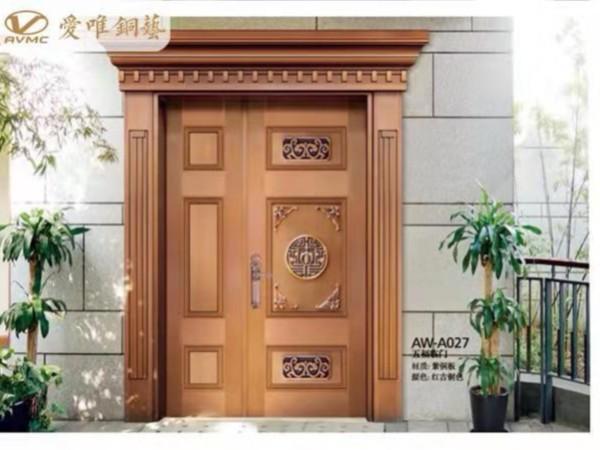 铜门需要保养吗?入户铜门厂家爱唯铜艺为您分享铜门的保养方法