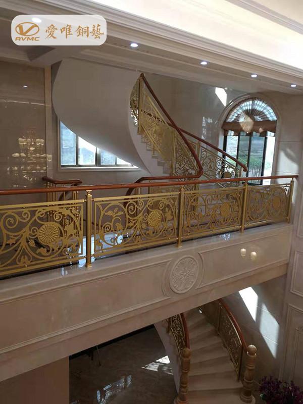 铜门楼梯扶手