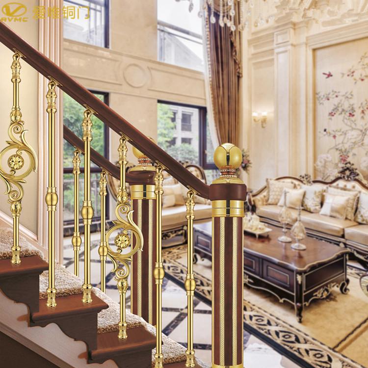 爱唯铜门-铜楼梯