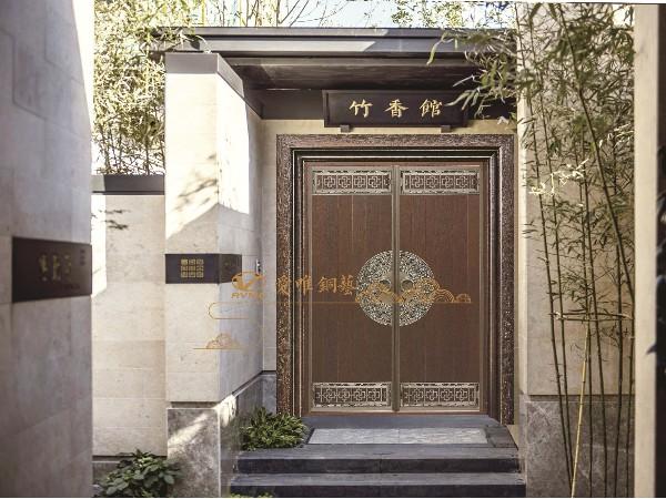 真铜门与仿铜门的区别