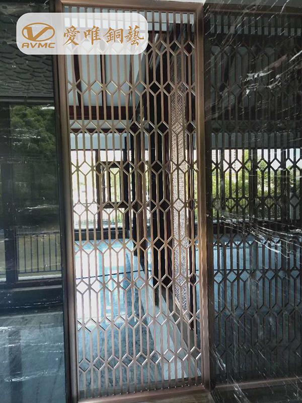 高端铜门工程案例