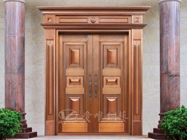 广东铜门厂家爱唯铜艺以客户的体验为主